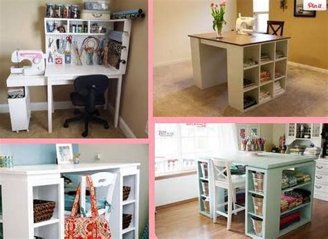 diy sewing table ideas one day i ll sew