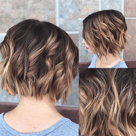 short hairstyles  thick hair  fab  color