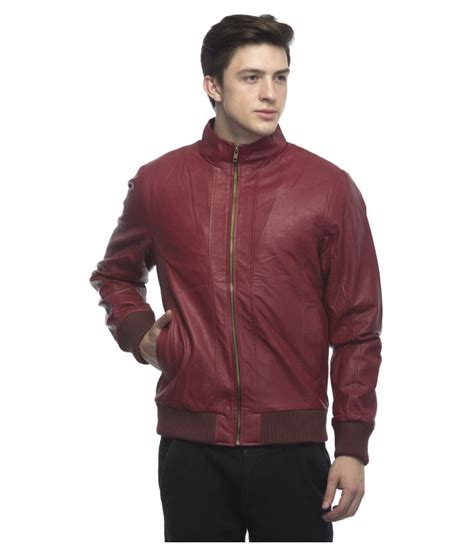 Jaket Jacket Murah King Maroon lambency maroon leather jacket jacket buy lambency maroon leather jacket jacket at best
