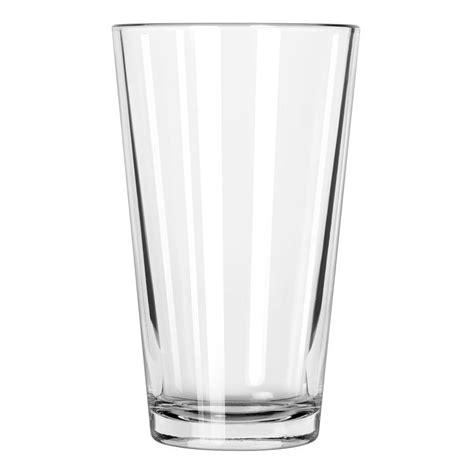 pint glass libbey 1639ht 16 oz pint glass mixing glass duratuff