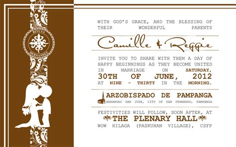 layout invitation wedding wedding invitation layouts wblqual com
