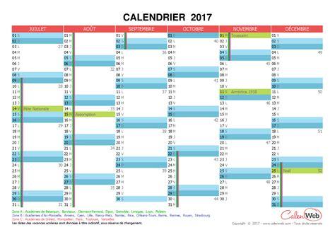Calendrier 2017 Avec Les Vacances Calendrier 2017 Avec Les Vacances Scolaires