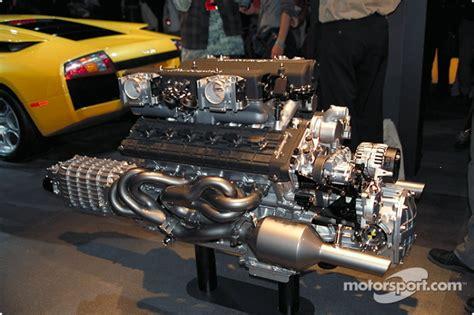 lamborghini v12 engine the lamborghini murcielago v12 engine at north american