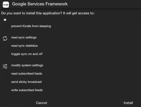 services framework apk как установить приложения из play store на kindle hd или hdx techtoday