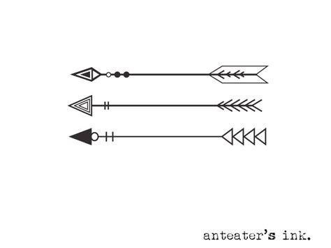 45 arrow designs
