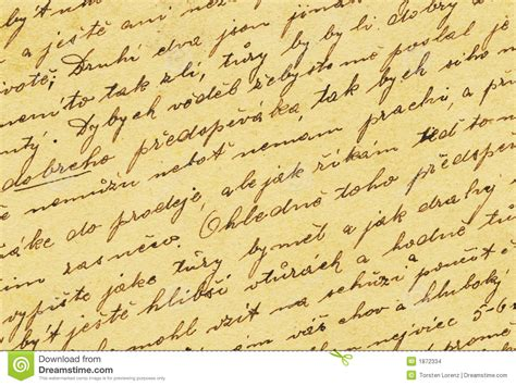 fashioned writing paper template vintage handwriting stock images image 1872334