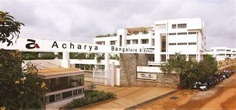 Acharya Institute Of Technology Mba by Direct Admission In Acharya Bangalore B School Acharya