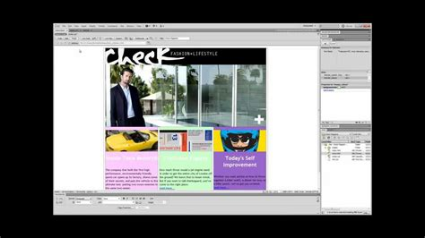 css tutorial div tag dreamweaver cs5 5 tutorial div tags and css youtube