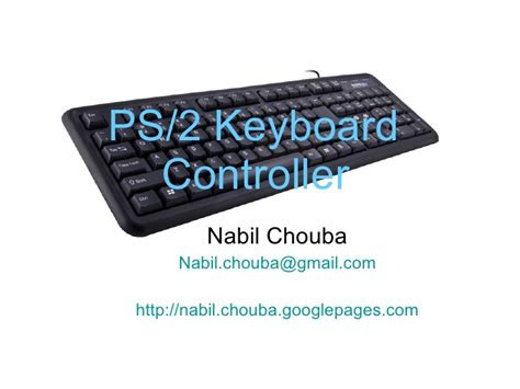 keyboard controller tutorial ps2 keyboard vhdl design tutorial