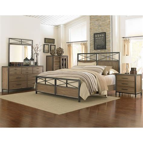 wood and metal bedroom furniture iron and wood bedroom furniture with regard to your house
