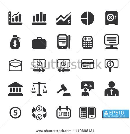 business icons stock vector more images of 524533800 istock finance and business vector icon set 110698121