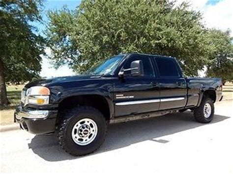 electric and cars manual 2006 gmc sierra 2500 free book repair manuals purchase used 2006 gmc 2500 hd 4x4 sle duramax diesel 6 speed manual 106k miles 1 owner