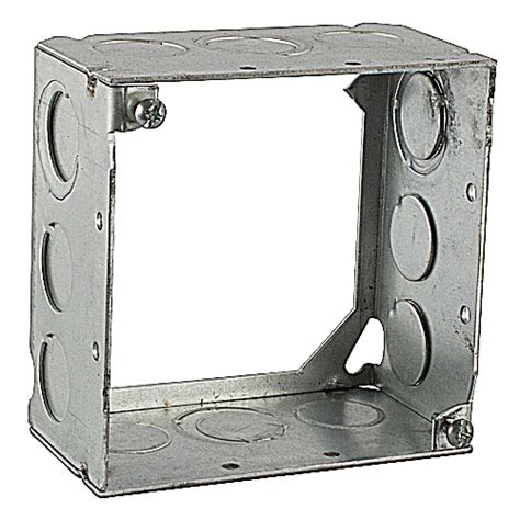 steel city 4 square extension ring steel city 531711234 4 in steel square box 2 1 8 in