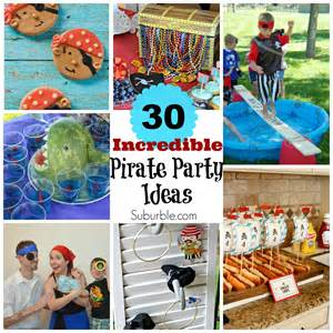 Ideas For Theme - 30 pirate ideas suburble