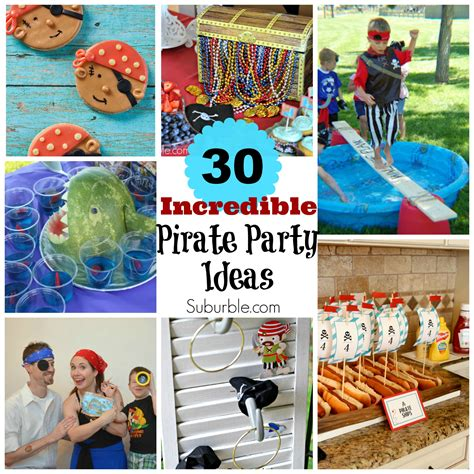 party tips 30 incredible pirate party ideas suburble