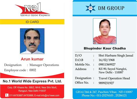 Id Card Template Publisher by Student Id Card Template