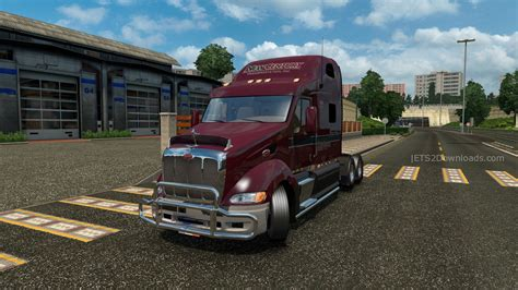 peterbilt truck dealer peterbilt 387 custom v1 1 euro truck simulator 2 spot