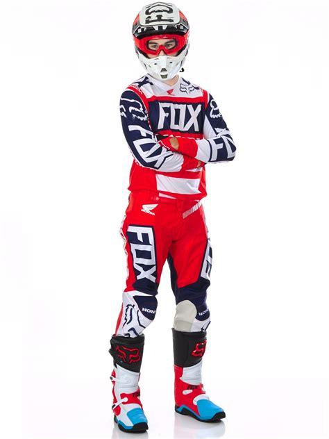 fox honda motocross fox r 248 d hvit 2017 180 honda mx bukser fox
