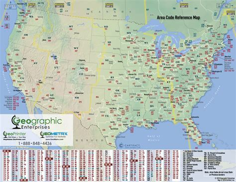 us area code and time zone map printable telephone area code map my