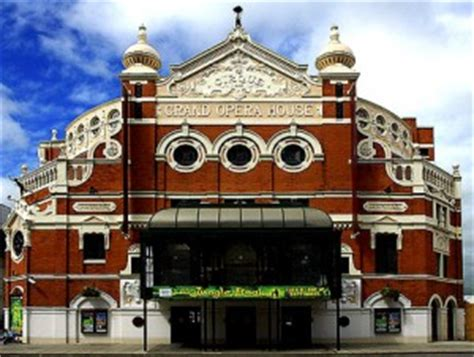The Grand Opera House by The Grand Opera House Historic Buildings Belfast