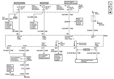 gmc jimmy     copy   wiring diagram   radiocd player