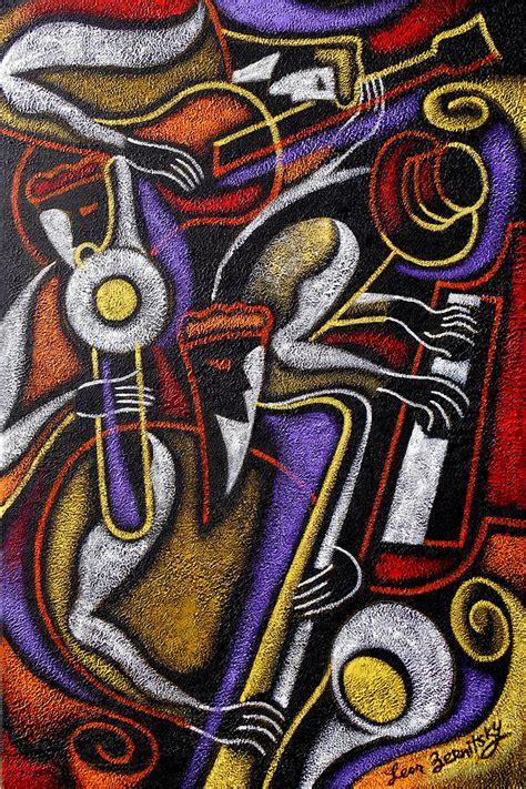 swing jazz swing jazz painting by zernitsky