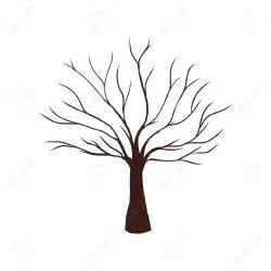 tree template without leaves brown tree without leaves clipart clipartsgram