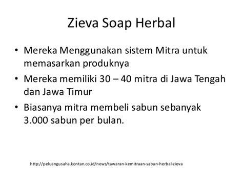 Sabun Herbal Zieva Organic Soap Market