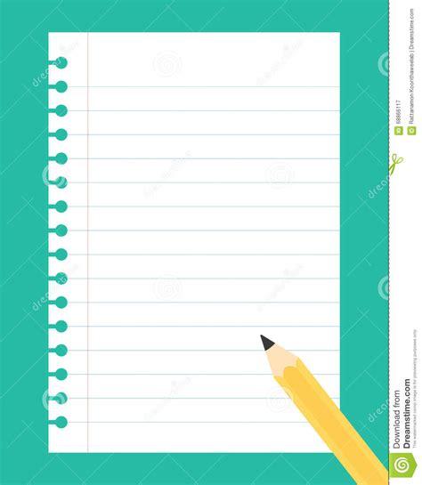 Note Book Running Run 20 Sheet notebook clipart sheet paper pencil and in color notebook clipart sheet paper