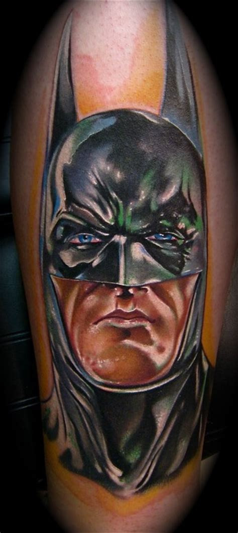 batman tattoo realistic bat tattoos and designs page 117