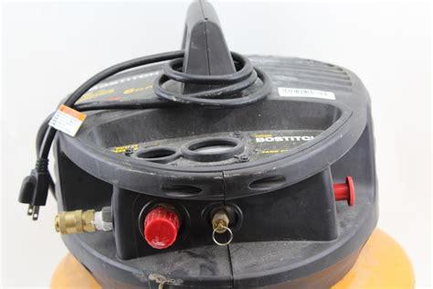 stanley bostitch bn air compressor property room
