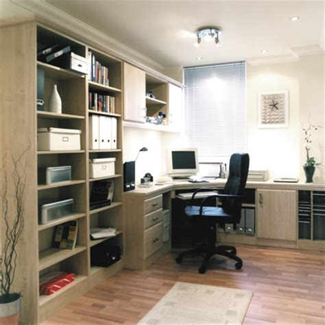 fitted home office natal planked maple