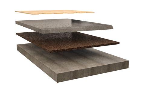 isolamento acustico a pavimento isolamento pavimento flottante in legno con sughero