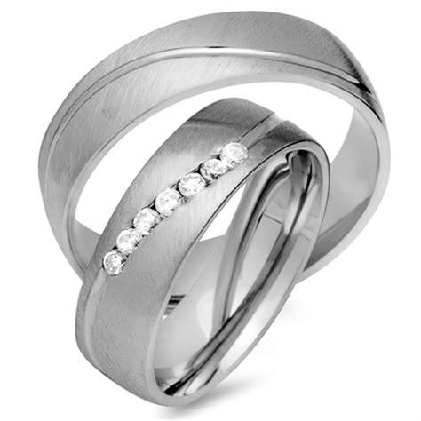 Ringe Ehe by Eheringe 585er Weissgold 7 Diamanten Ehe0338 5s