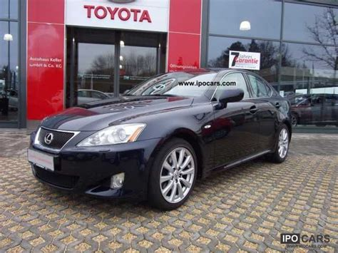 Toyota Lexus Is250 For Sale 2007 Toyota Lexus Is 250 Sport Line Car Photo And Specs