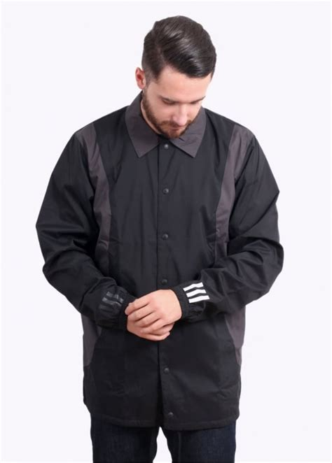 white bench jacket adidas originals apparel x white mountaineering bench jacket black jackets from