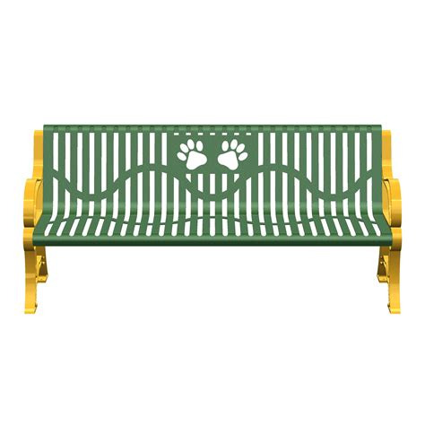 classic benches paws classic bench terrabound solutions inc
