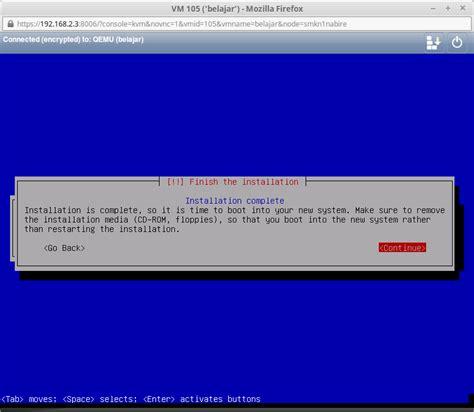 membuat vps sendiri cara membuat vps sederhana menggunakan proxmox os linux