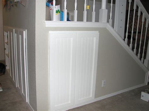 half closet half desk shelving for under stairs closet images that really