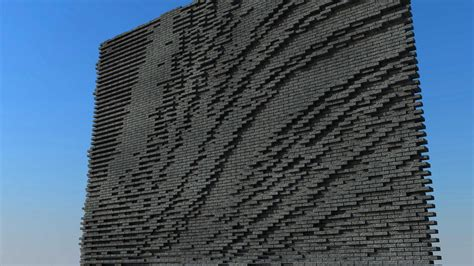 c pattern brick parametric design for brick surfaces zwarts jansma architects