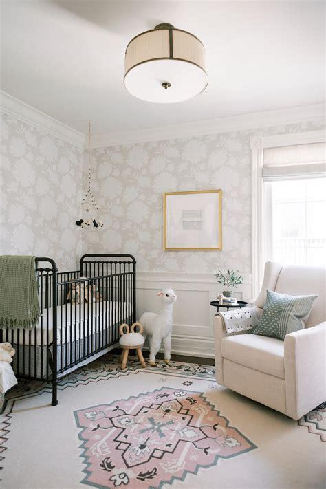 timeless baby girl nursery  vintage inspired rug haven
