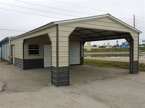 A Carport Metal Carports Porter Tx By Integrity
