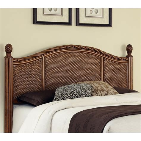 headboard styles shop home styles marco island cinnamon king cal king headboard at lowes