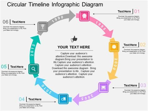 Infographic Ideas 187 Infographic Timeline Template Ppt Circular Timeline Template