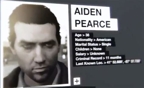 Cool Technology by Watch Dogs Aiden Pearce Look Without Cap And Mask Revealed