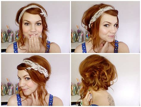 easy hairstyles for waitress s hair finished katie shelton flickr