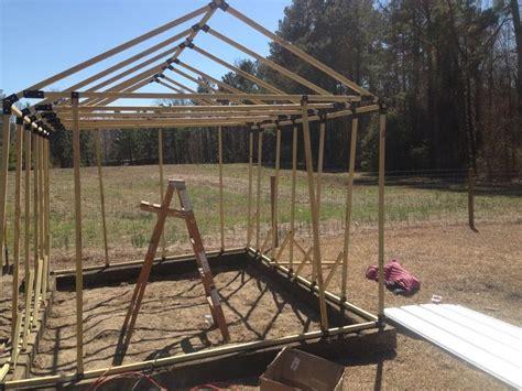 building   greenhouse   ez frames kit part