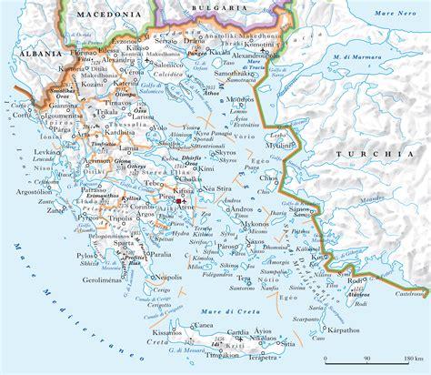 isola greca dei vasi grecia in quot atlante geopolitico quot