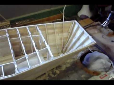 how to build a boat using popsicle sticks popsicle stick model boat vid 2 youtube
