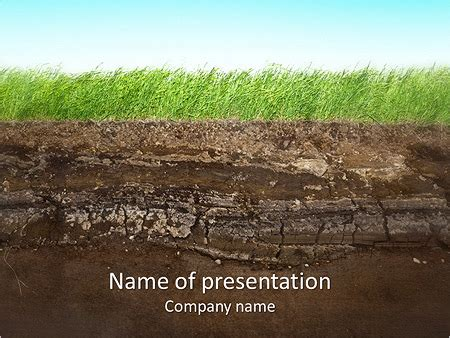 powerpoint themes soil grass and soil powerpoint template backgrounds id
